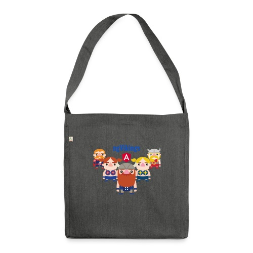 Viking Friends - Shoulder Bag made from recycled material