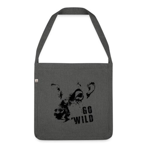 Go Wild - Schultertasche aus Recycling-Material