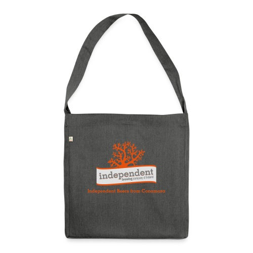 Independent Beers from Conamara - Shoulder Bag made from recycled material
