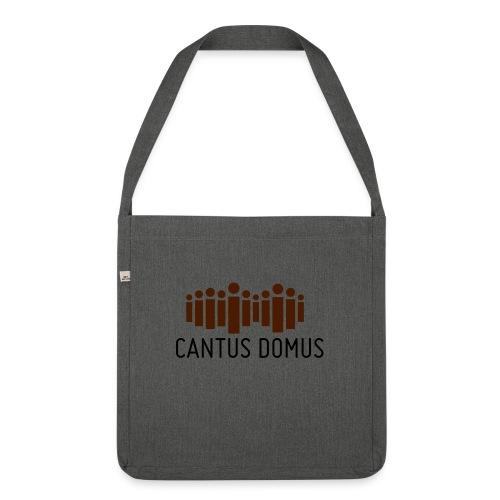 Cantus Domus Logo ohne Untertitel 2c - Schultertasche aus Recycling-Material