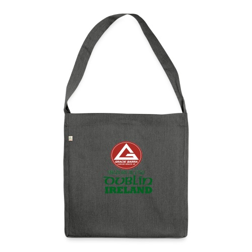 Gracie Barra Dublin Gaelic Celtic Font PNG - Shoulder Bag made from recycled material