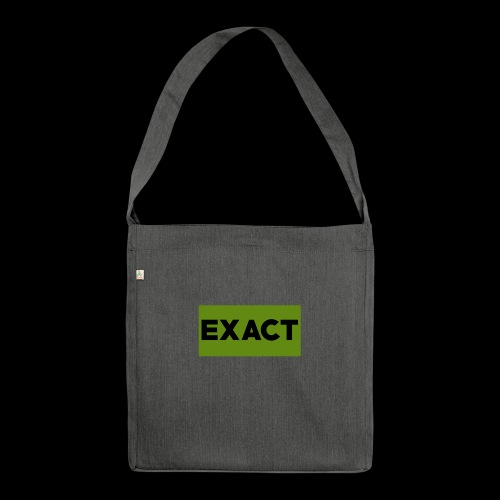 Exact Classic Green Logo - Shoulder Bag made from recycled material