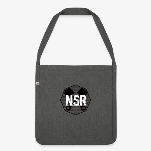 NSR B/W - Olkalaukku kierrätysmateriaalista