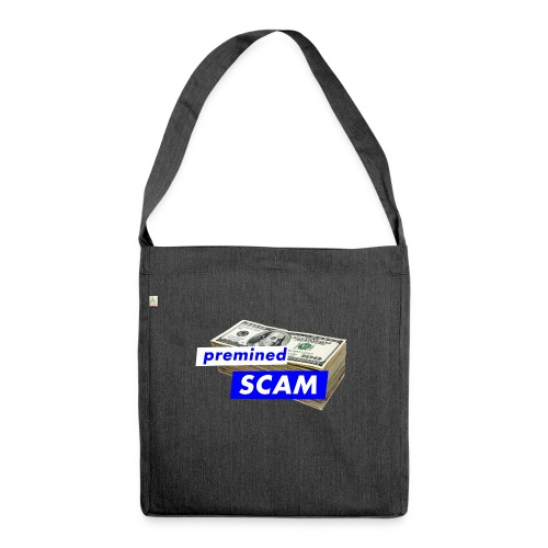 premined SCAM - Shoulder Bag made from recycled material