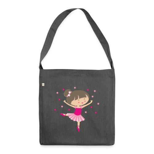 Happy Meitlis - Ballerina - Schultertasche aus Recycling-Material