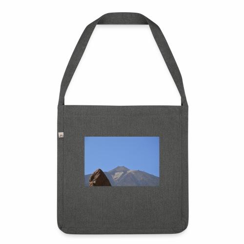 Teide - Teneriffa - Schultertasche aus Recycling-Material