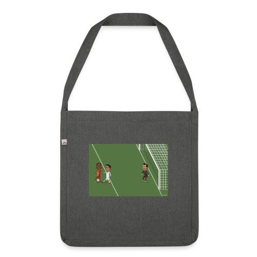 Backheel goal BG - Shoulder Bag made from recycled material