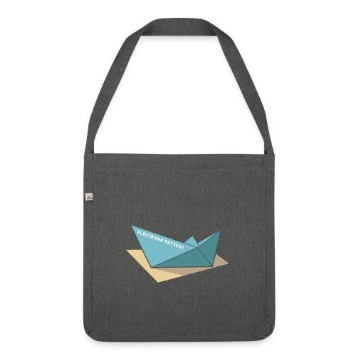 logo_spreadshirt_pfade_4c - Schultertasche aus Recycling-Material