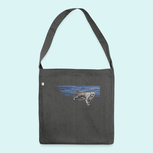 Polar-Blues-SpSh - Shoulder Bag made from recycled material