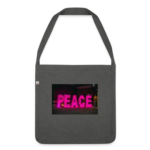 paz - Bandolera de material reciclado
