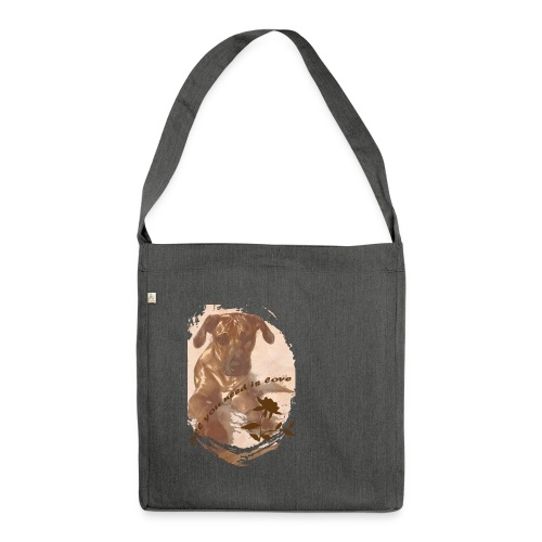 RBC Amani gif - Schultertasche aus Recycling-Material