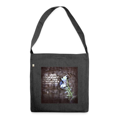 try3 jpg - Schultertasche aus Recycling-Material