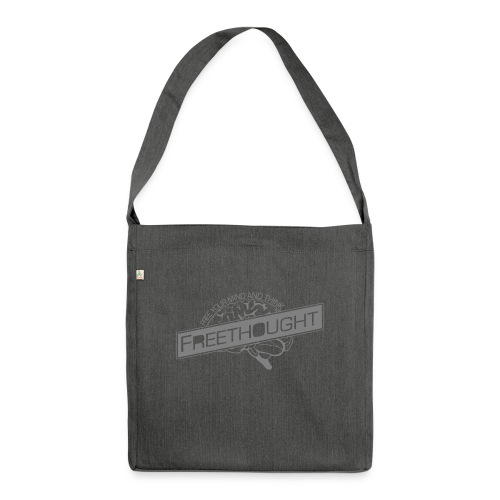 Freethought - Shoulder Bag made from recycled material