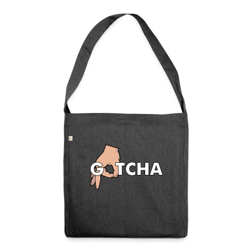 Gotcha Made You Look Funny Finger Circle Hand Game - Shoulder Bag made from recycled material