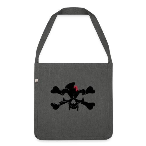 SKULL N CROSS BONES.svg - Shoulder Bag made from recycled material