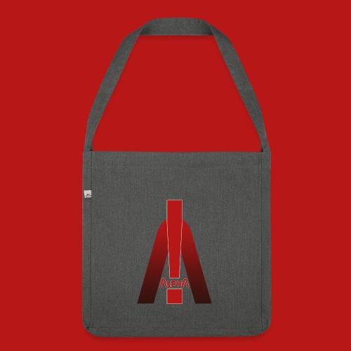 ALPHA - Winner wins! - Schultertasche aus Recycling-Material