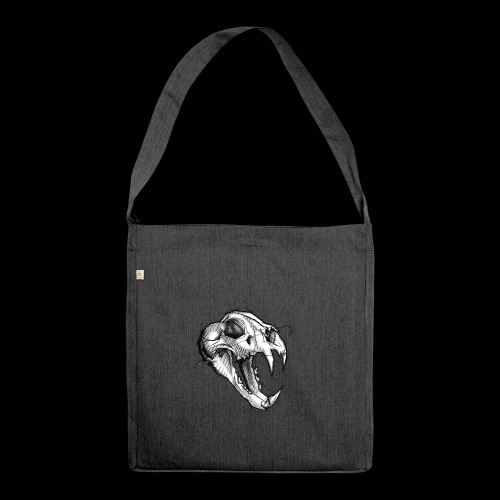 Teschio Tigre - Borsa in materiale riciclato