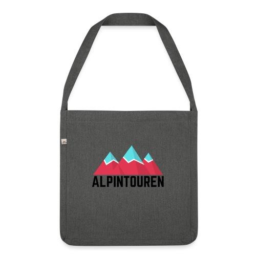 Alpintouren - Schultertasche aus Recycling-Material