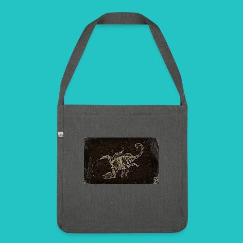 skorpion_grafika-jpg - Torba na ramię z materiału recyklingowego