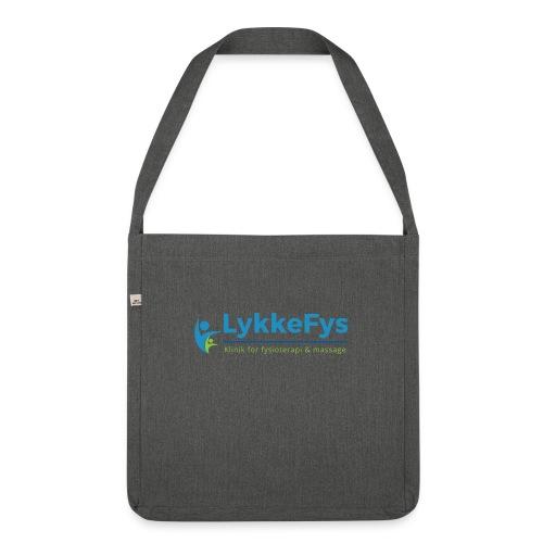 Lykkefys Esbjerg - Skuldertaske af recycling-material