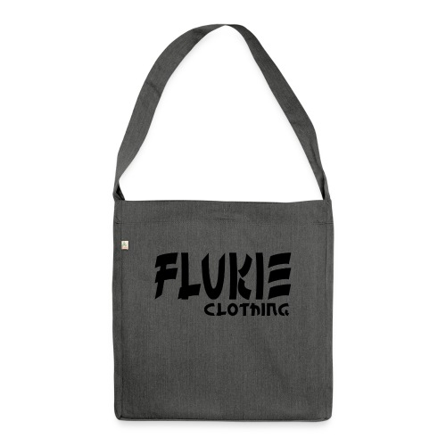 Flukie Clothing Japan Sharp Style - Shoulder Bag made from recycled material