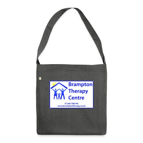 Brampton Therapy Logo - Shoulder Bag made from recycled material