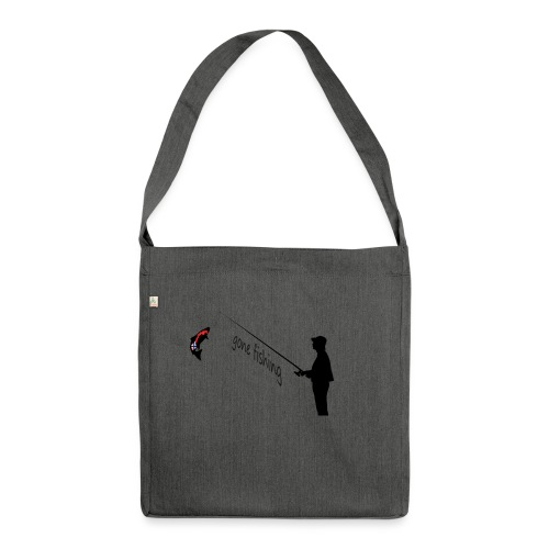Angler - Schultertasche aus Recycling-Material