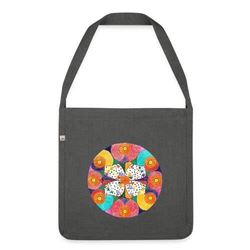 Abundance Mandala gif - Shoulder Bag made from recycled material