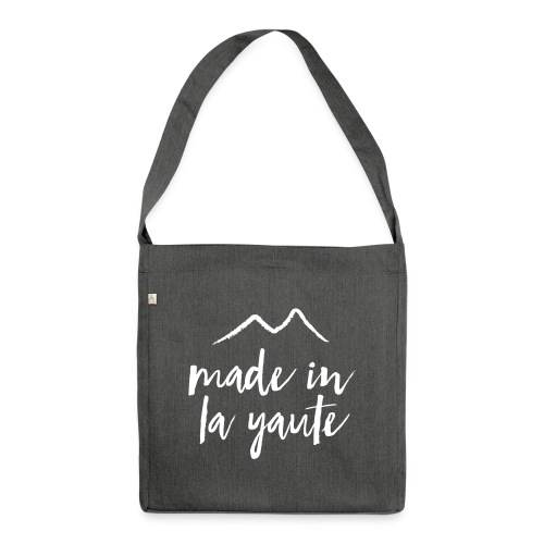 Made in la yaute - Sac bandoulière 100 % recyclé