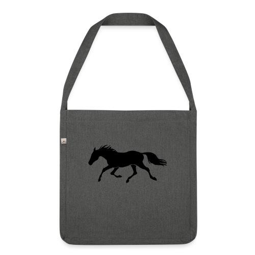 Cavallo - Borsa in materiale riciclato