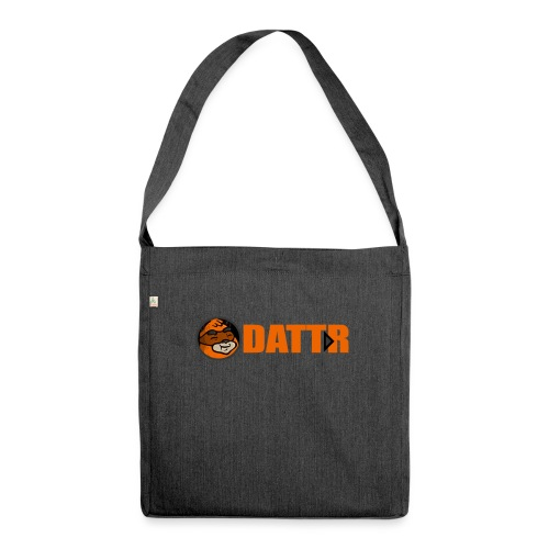 dattr logo - Shoulder Bag made from recycled material