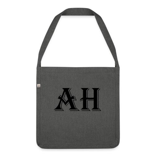 AH logo - Schoudertas van gerecycled materiaal