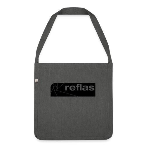 Reflas Clothing Black/Gray - Borsa in materiale riciclato