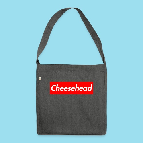 CHEESEHEAD Supmeme - Schultertasche aus Recycling-Material