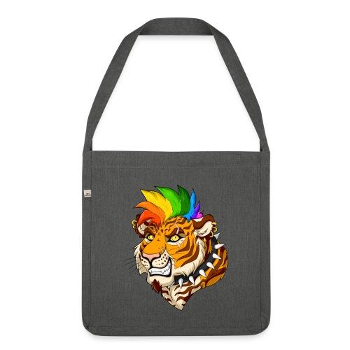 Punk Tiger - Torba na ramię z materiału recyklingowego