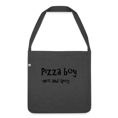 Pizza boy - Skulderveske av resirkulert materiale