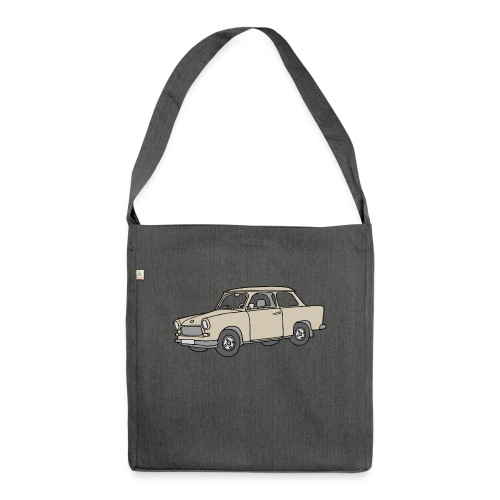 Trabi, Trabant (papyrus) - Schultertasche aus Recycling-Material