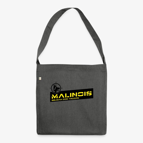 Malinois Dog Troops - Schultertasche aus Recycling-Material