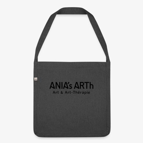 AniasArth_LOGO_2018_vect - Schultertasche aus Recycling-Material