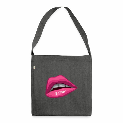 one kiss - Shoulder Bag made from recycled material