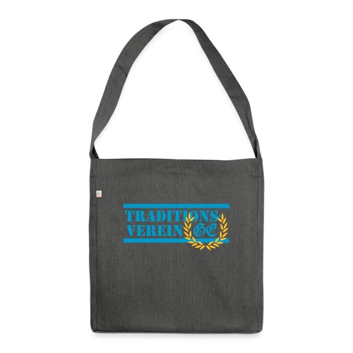 Traditionsverein - Schultertasche aus Recycling-Material