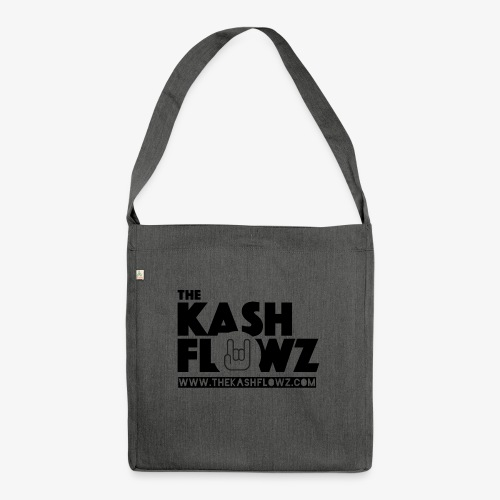 The Kash Flowz Official Web Site Black - Sac bandoulière 100 % recyclé