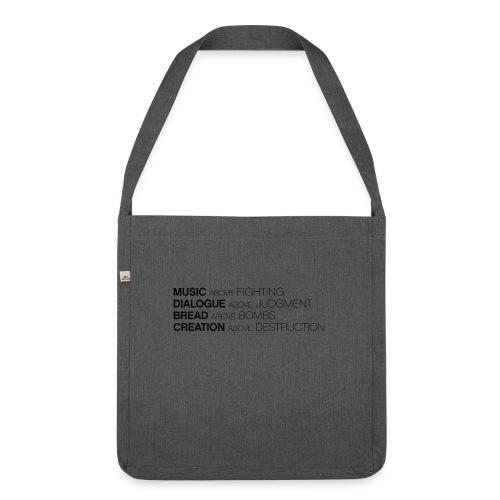 slogan png - Schoudertas van gerecycled materiaal