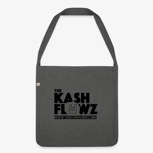 The Kash Flowz Official Web Site Black - Sac bandoulière 100 % recyclé