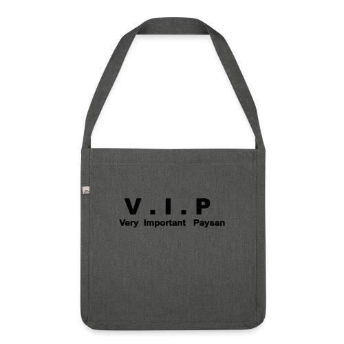VIP - Very Important Paysan - Sac bandoulière 100 % recyclé