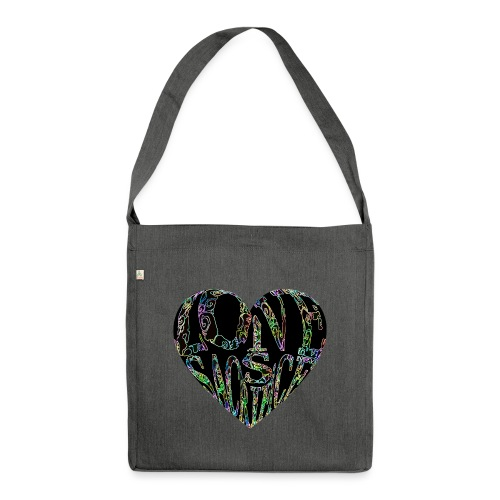 Love Is Sacrifice - Shoulder Bag made from recycled material
