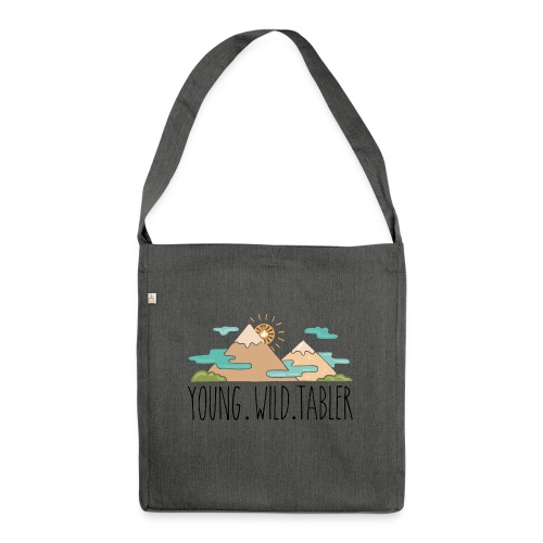 young.wild.tabler - Schultertasche aus Recycling-Material