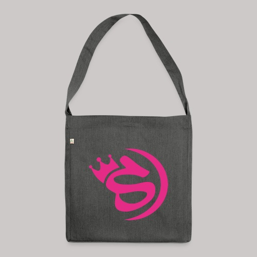 S pink - Schultertasche aus Recycling-Material