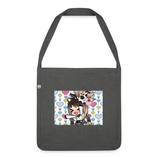 Urodzinowa Yuki! - Torba na ramię z materiału recyklingowego