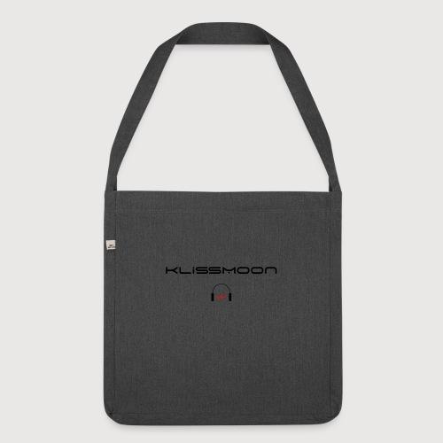 Klissmoon Logo black - Shoulder Bag made from recycled material